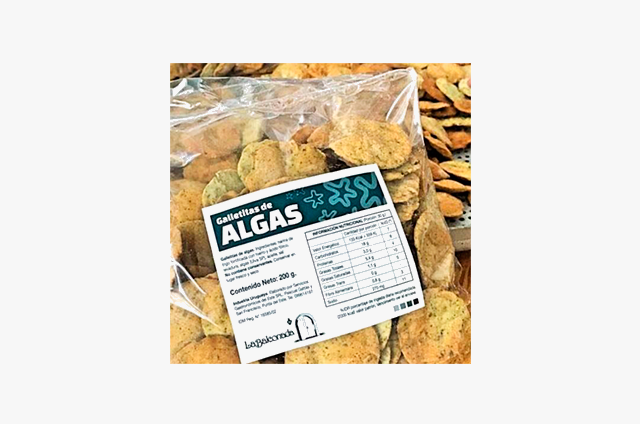 "Galletitas de algas ""La Balconada"""